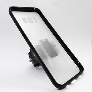Image 2 - Bisiklet gidon montaj cep telefonu tutucu ray montaj tutucu standı kavrama klipsi durumda Samsung Galaxy S8/S8 artı/S9/S10/S10E