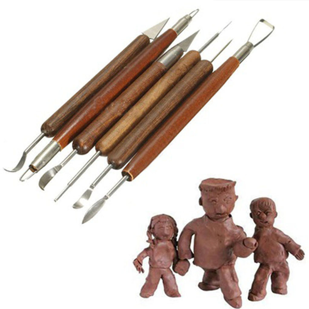 Home & Garden Careful 14pcs Plastic Clay Sculpting Set Wax Carving Pottery Tools Carving Sculpture Shaper Polymer Modeling Clay Ceramic Pottery Tools Soft And Light Pottery & Ceramics Tools