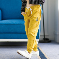 Children's sport pants autumn style boys girls pure cotton leisure pants playing underpants 3 13years