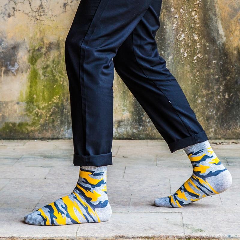 fashion men in tube   socks   man   socks   Man   socks   in camouflage EUR39-44