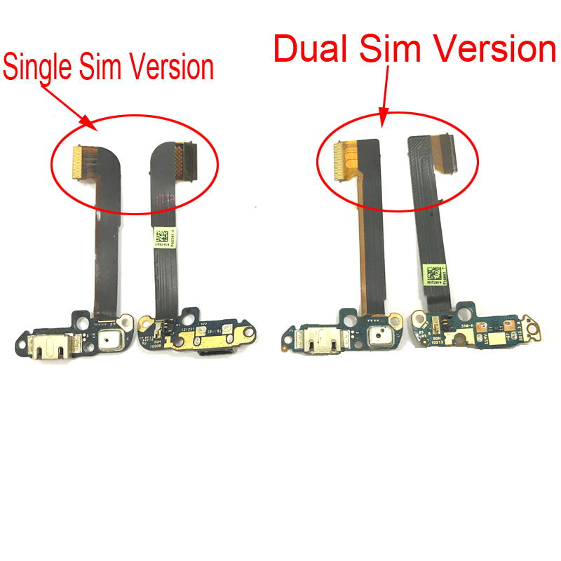 Original USB Connector Charging Port Flex Cable Ribbon For HTC One Dual Sim 802 One M7 Micro Dock Connector Charger Plug Board