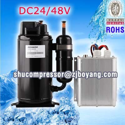 DC48v air-conditioner compressor for Telecommunication basis telecom shelter cellphone base cabinet growth of telecommunication services