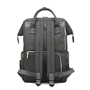 Image 5 - Nappy sac à dos sac momie grande capacité sac maman bébé multi fonction imperméable à leau en plein air voyage sacs à couches pour les soins de bébé