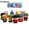 Real 4400mAh Power Bank One Piece Series Cartoon Portable Charger External Battery for Cellphones