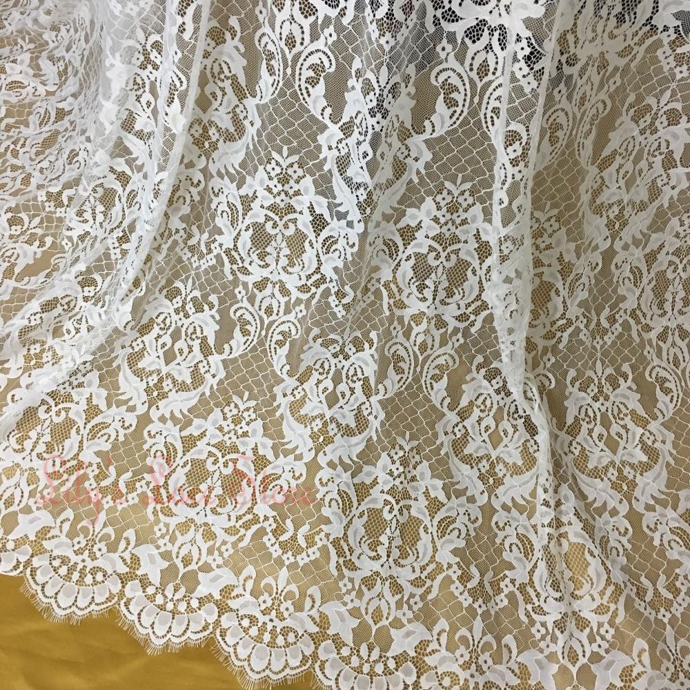 2016 latest high quality french lace eyelash wedding lace for French lace fabric for wedding dresses