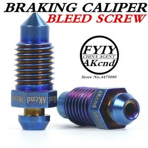 Image 1 - AKcnd M10 x 1.25 มิลลิเมตรรถจักรยานยนต์จักรยานเบรค Braking Caliper จุกนมมีเลือดออก