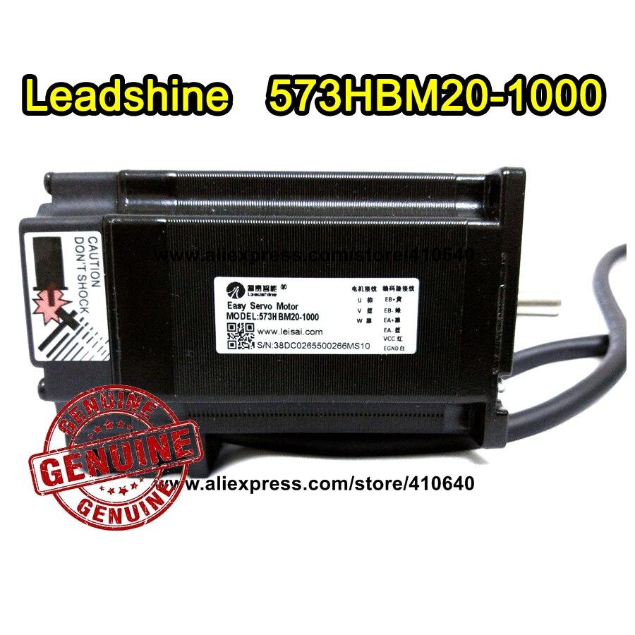 Leadshine Hybrid Servo Motor 573HBM20 updated from 57HS20 EC1.8 degree 2 Phase NEMA 23 with encoder 1000 line and 1 N.m torque