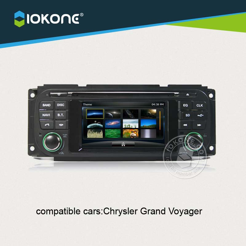 IOKONE font b Car b font Video DVD CD Player For Chrysler Grand Voyager With FREE