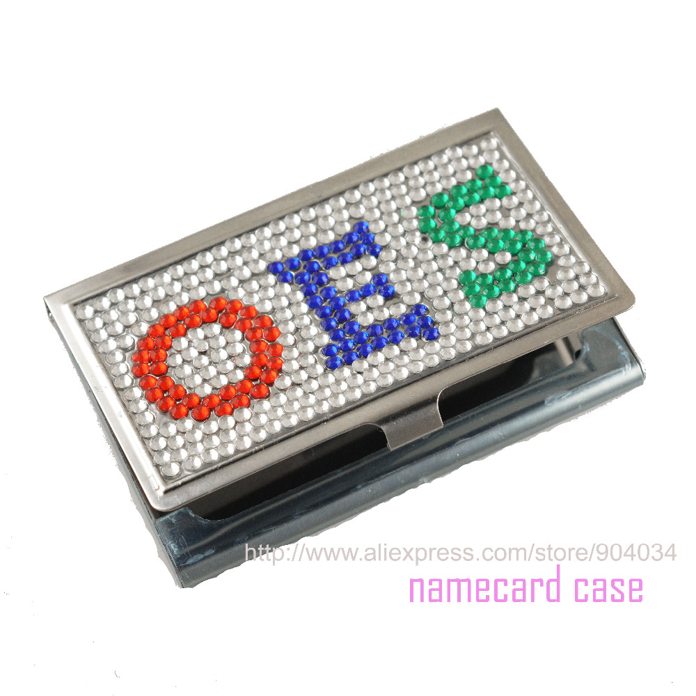 Custom crystal card case cute card holder order of the eastern star custom crystal card case cute card holder order of the eastern star oes jewelry business namecard case in beads from jewelry accessories on reheart Images