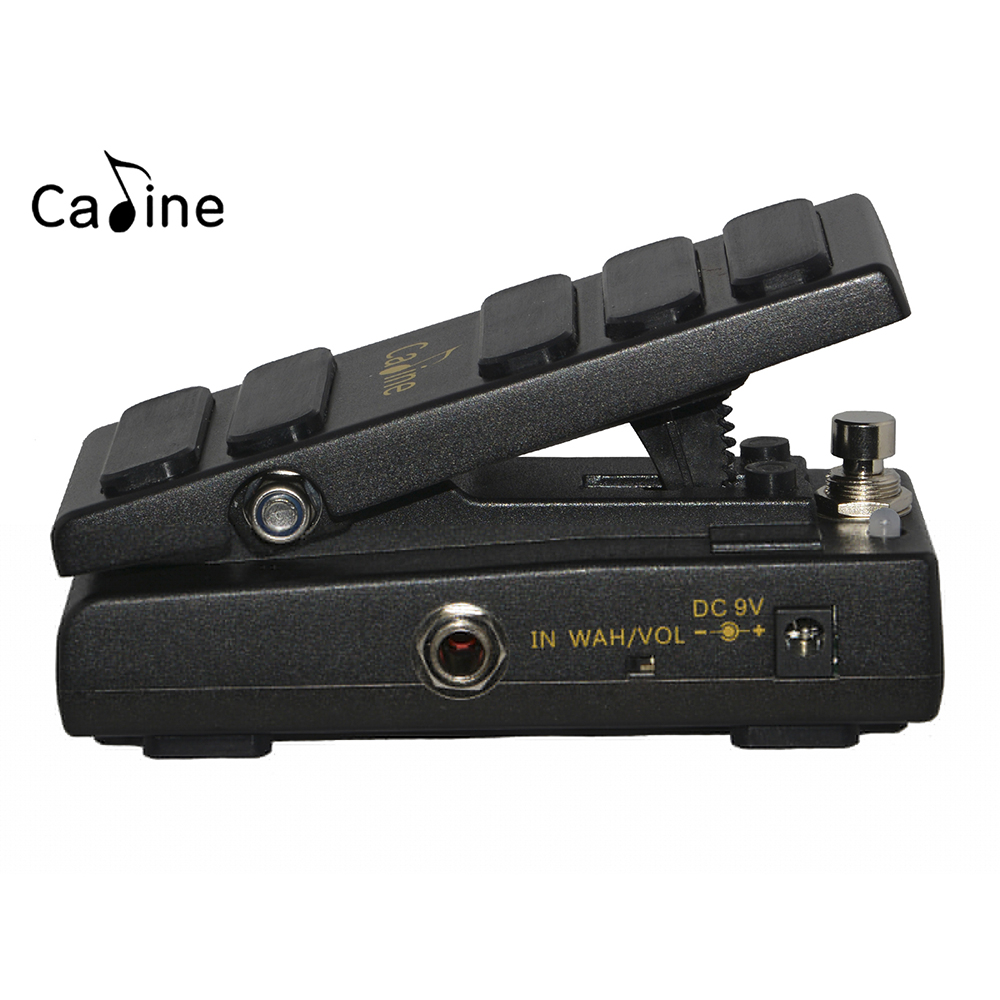 Caline CP31 Wah Wah Pedal Switchable Between Wah Mode and VOL Mode DC9V Input Wah Pedal Footswitch new caline wah wah pedal hot spice switchable between wah mode and vol mode dc9v input caline wah pedal footswitch