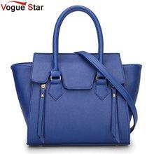 Vogue star frauen elegante handtaschen weibliche umhängetaschen trapez hochwertigen totes tasche damen pu-leder crossbody taschen la230