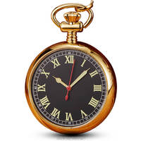 Copper Luminous Automatic Pocket Watches Chains Steampunk Skeleton Mechanical Fob Watches Men Women Gift Relogio De Bolso