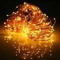 3.6 W Multicolor 32 M LED Alambre De Cobre Luz de la Secuencia de Energía Solar LED Luz de Hadas Del Banquete de Boda de Navidad Decoración de La Lámpara a prueba de agua