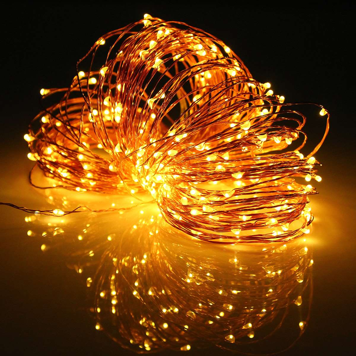 String Lights Big W : 3.6W Multicolor 32M LED String Light Solar Power Copper Wire LED Fairy Light Christmas Wedding ...