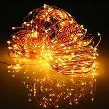 3.6 Вт Многоцветный 32 М Свет Шнура СИД Солнечной Энергии Медной Проволоки СВЕТОДИОДНЫЕ Фея Света Рождество Свадьба Декор Лампы водонепроницаемый