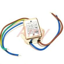 الطاقة EMI تصفية تنقية CW1B 3A 6A 10A التدخل L مرحلة واحدة أس 220 فولت