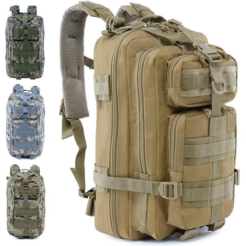 20L banlieue sacs à dos militaire tactique sac à dos Jungle Camouflage sac de chasse étanche en plein air Camping randonnée sacs voyage