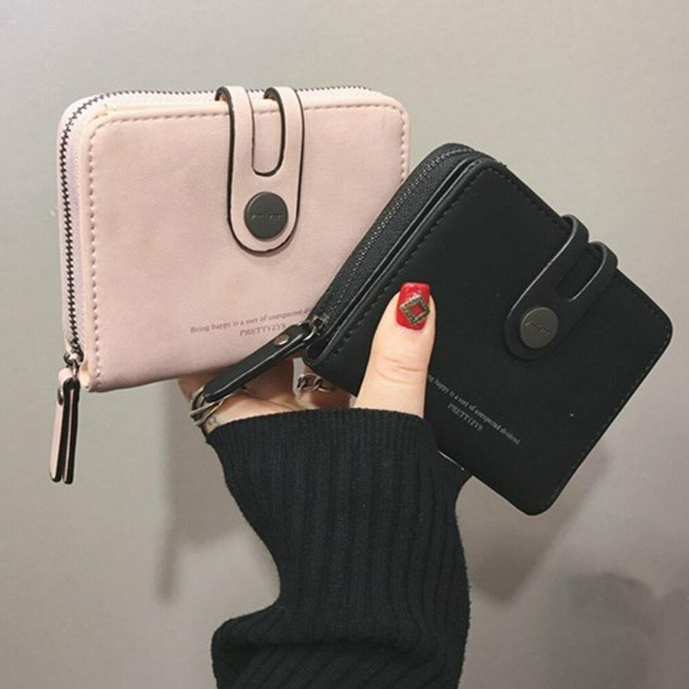 Mode Vrouwen Dames Lederen Portemonnee Geld Clip Portemonnee Clutch Kaart Tas Houder Gift-in Portemonnees van Bagage & Tassen op title=