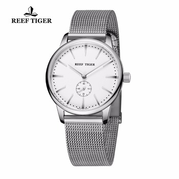 Reef Tiger/RT Casual Vintage Watches Quartz Couple Watches Waterproof Full Steel Mens Watch RGA820 2
