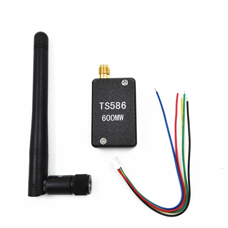 5.8G 600mw 32CH FPV Wireless Emitter TS586 Transmitter Mini AV with Metal Case for RC Quadcopter 2 Vision+ Quadcopter QAV250 ts5823 5 8g 200mw 32ch mini wireless transmitter for fpv black page 9