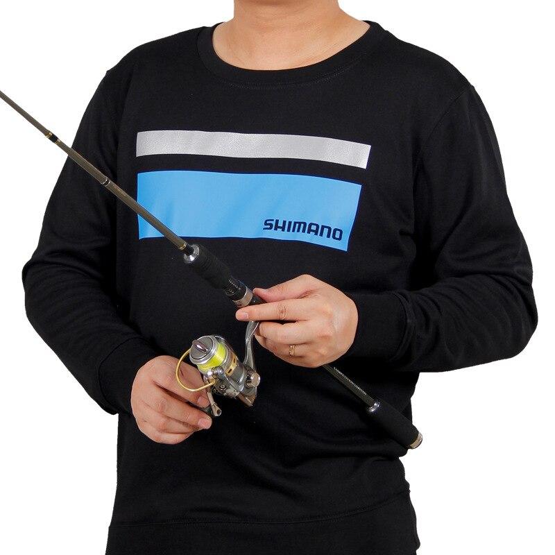2018 Nuovi Uomini Di Shimano Pesca Abbigliamento Cotone A Maniche Lunghe Outdoor Escursionismo Pesca T Camicette Uomo Di Sport Plus Size Giubbino Da Pesca Felpe Possedere Sapori Cinesi