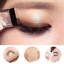 Двухцветные ленивые двухслойные тени для век макияж Палитра для пигментов водостойкая Мерцающая Косметика для макияжа глаз