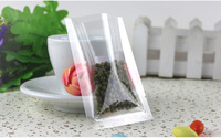 500pcs/lot 3size Clear plastic bags small food packaging bag Heat sealing bag thickness 0.08mm free shipping