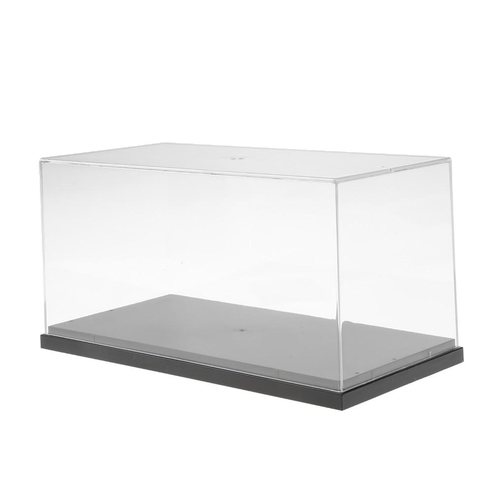 26x13x13 cm Modèle Vitrine Anti-Poussière Protection Affichage Boîte pour Modèle Chiffres