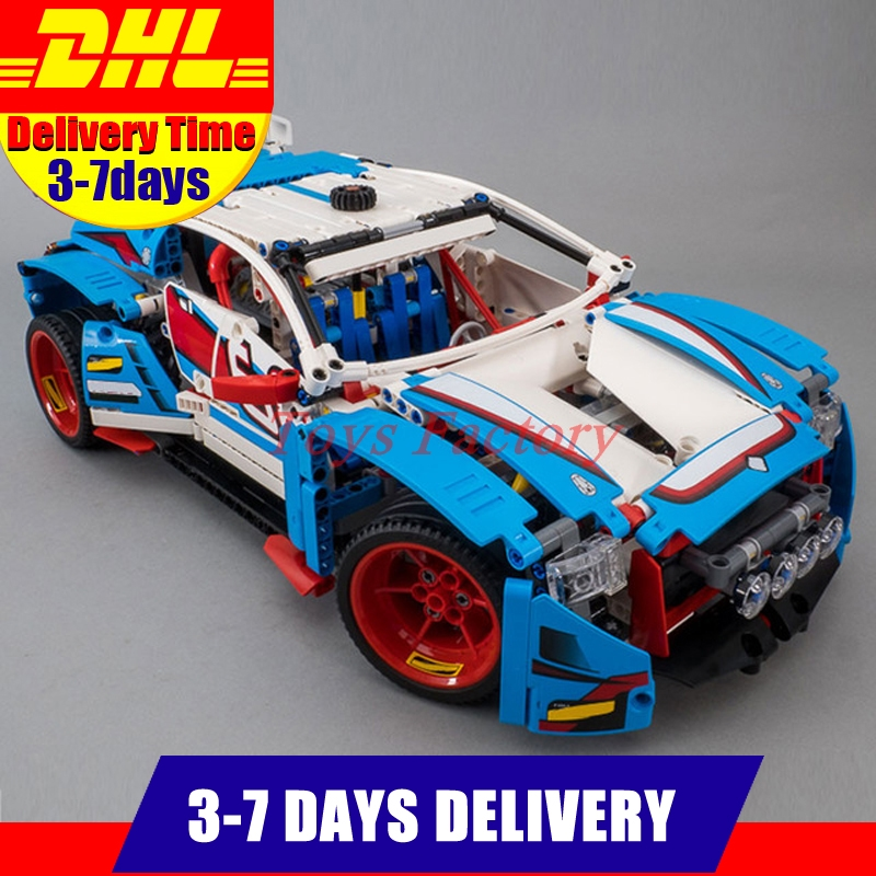 IN Stock DHL Lepin 20077 1085Pcs Technic Series The Rally Car Set 42077 Building Blocks Bricks Educational Funny Children Toys lepin 20077 genuine technic series the rally car set 42077 building blocks bricks educational funny toys as children gifts