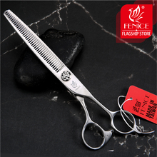 Fenice 7 inch Thinning Scissors Professional Shears Teddy Dog Pet Grooming Animal Haircut Supplier Instrument