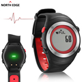 NORTHEDGE 2016 Sports Watch Heart Rate Monitor Sensor 3D Pedômetro Relógios Homens Correndo Calorie Digital relógios de Pulso Dos Homens No Peito