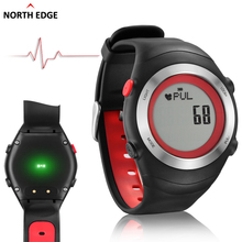 NORTHEDGE 2016 Sports Watch Heart Rate Monitor Sensor 3D Pedometer Watches Men Running Digital Wristwatches Chest
