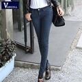 Spring / Summer 2017 denim pants feet elastic women's clothing manufacturers selling fashion slim jeans women a generation