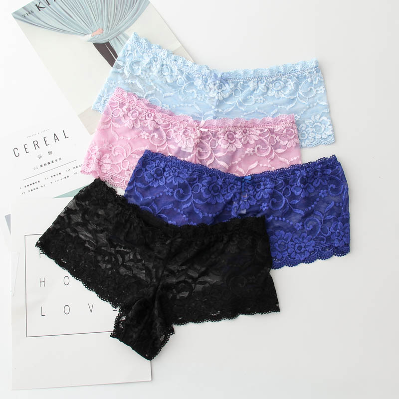 2019 Fashion Panties Female Sexy Embroidery Briefs Plus -5988
