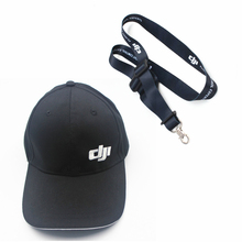 دي جي مافيك برو أجزاء الدخول الأزرق/الأسود قبعة في الهواء الطلق القطن قبعة بواقٍ للشمس/الطائرة بدون طيار قبعة ++ تحكم عن بعد حبال الحبل