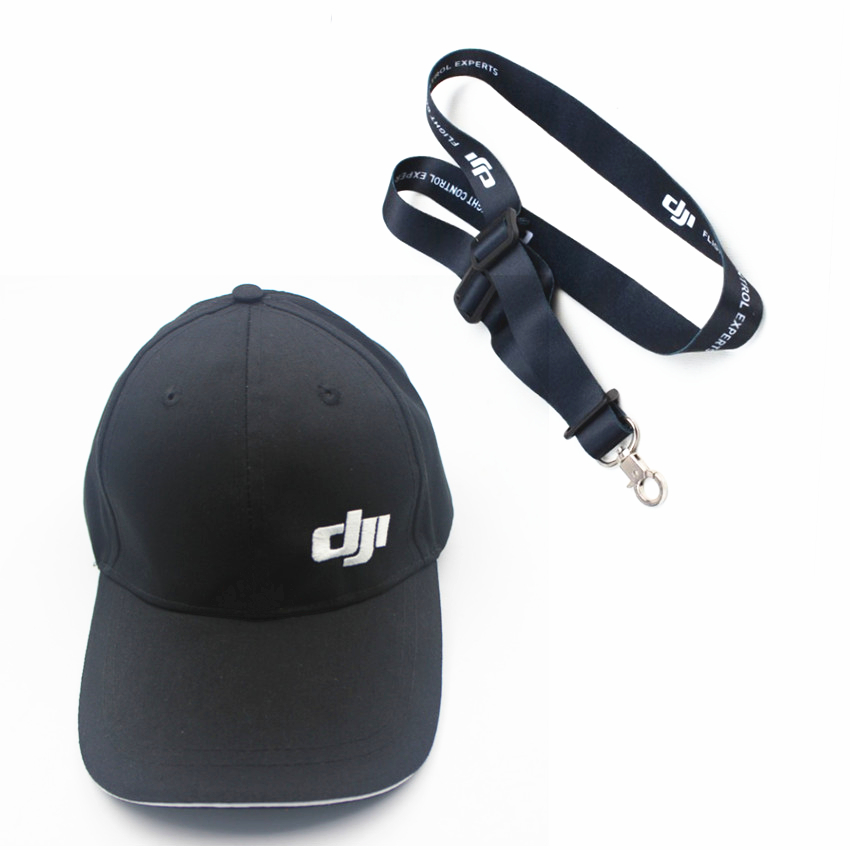 DJI Mavic PRO parts accessiories  Blue black Hat Outdoor Cotton Visor Hat drone hat  Remote Controller Sling Lanyard