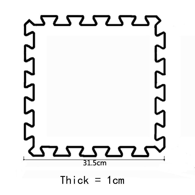 JCC lettre A-Z bébé EVA mousse Puzzle tapis de jeu/enfants tapis tapis de verrouillage exercice plancher pour enfants carreaux 30*30*1 cm - 5