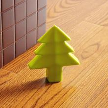 Silicone christmas tree shape Door Stopper Children Kids Jammers Holder Lock Safety Protect Jammer Finger Corner Guards RA5