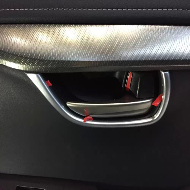 For Lexus NX 2015 2016 ABS Chrome interior door handle cup bowl ring accessories moulding trim car auto sedan cover styling