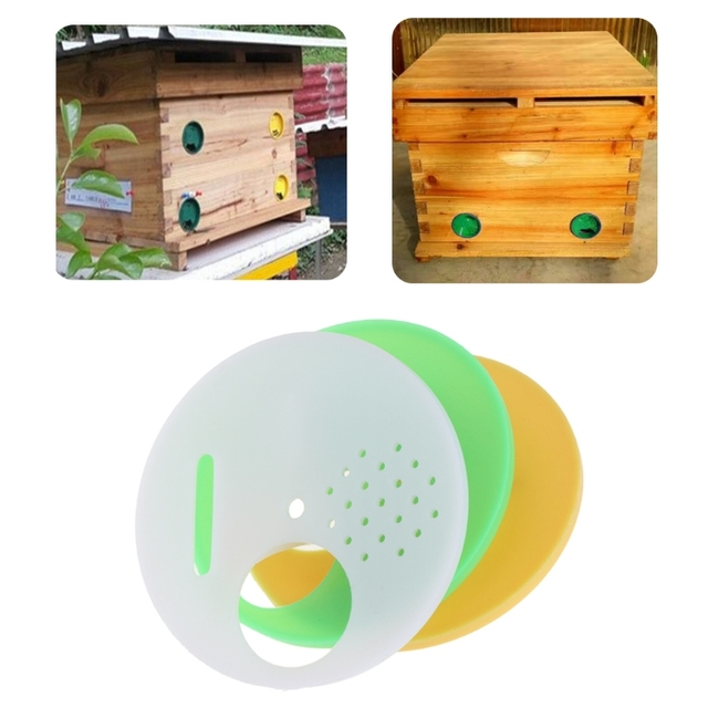 10 unids/set colmena puerta apicultura apicultor plástico entrada ...