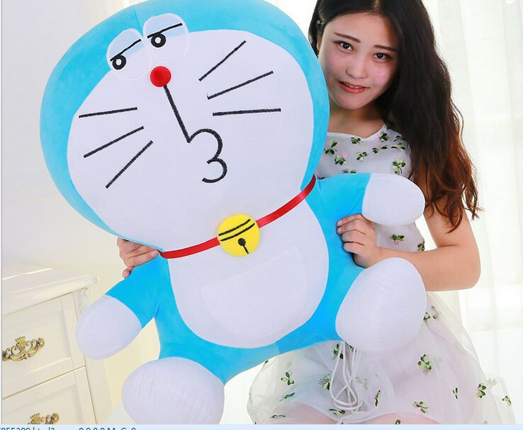 big plush kiss doraemon toy stuffed lovely doraemon doll perfect gift about 70cm lovely giant panda about 70cm plush toy t shirt dress panda doll soft throw pillow christmas birthday gift x023