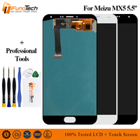 100% Tested For Meizu MX5 LCD Display +Digitizer Touch Screen Glass Replacement Parts For Meizu MX5 LCD