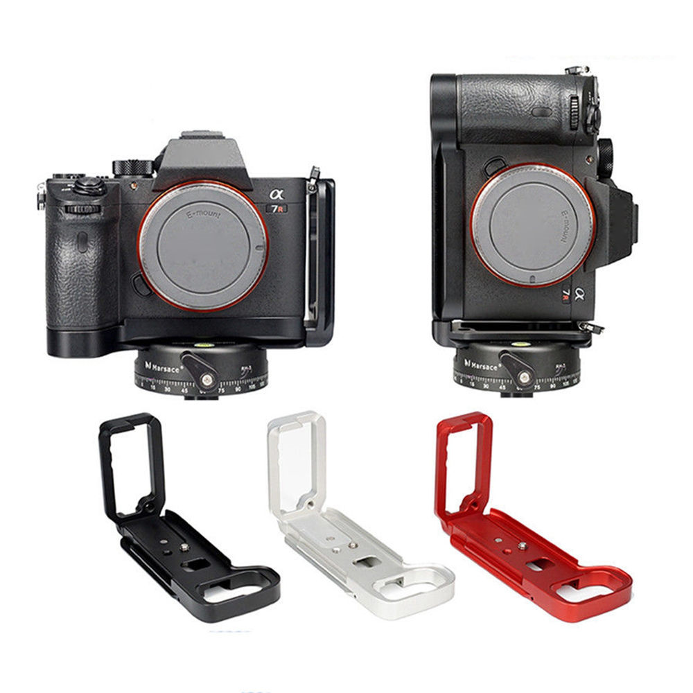 GABALE L Plate Bracket Professional Camera Hand Grip Camera Holder For SONY A7M3 A9 A7R3 Quick