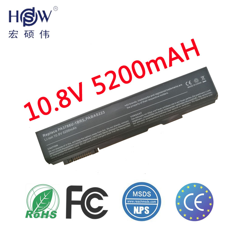 HSW laptop battery for toshiba Satellite Pro S500 FOR Tecra A11 M11 S11 PA3788U-1BRS,PABAS223 bateria hsw laptop battery for fujitsu lifebook c1020 c1010 c1110 maxdata pro 6000t pro 6000x s26391 f2471 l400 ef3 ef4 baterie bateria