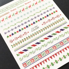 Newest CA-90 3d nail sticker decals Japan type DIY decorations template for art