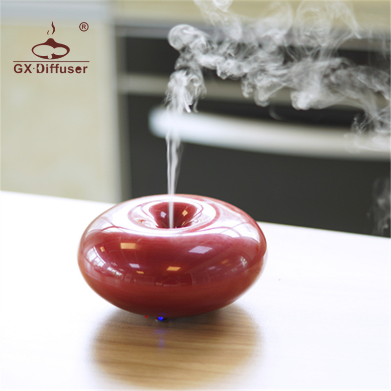 GX.Diffuser 160ML Aroma Diffuser 7 Color LED Aroma Diffuser Ultrasonic Air Humidifier Essential Oil Aroma Diffuser Aromatherapy gx diffuser 160ml led electric essential oil diffuser 7color changing ultrasonic aroma humidifier aromatherapy diffuser for home