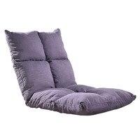 Мягкие регулируемые ленивый диван раскладная кровать стул подушке мебель Гостиная современный пол игровой стул спальный диван кровать
