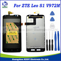 1pcs For ZTE Leo S1 V972M V972 LCD DIsplay+Touch Screen Digitizer Assembly Replacement+tools