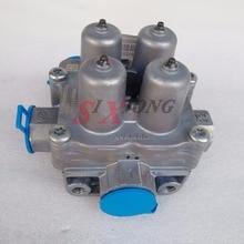 9347144030 Wabco четырехконтурный предохранительный клапан для MAN VOLVO Renault SCANIA