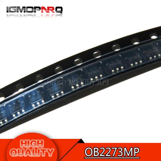 10 шт Бесплатная доставка OB2273MP OB2273 SOT23-6 управление ЖК-дисплеем p 100% Новый оригинальный